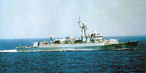 1986-12-14 China's first aircraft self-designed missile frigates in service