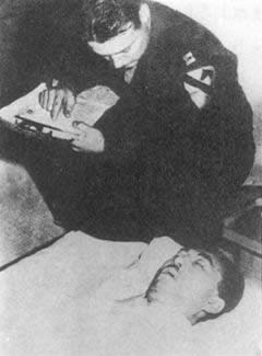 1945-12-16 The Japanese invasion of China culprit Fumimaro Konoe suicide