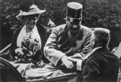 1863-12-18 Crown Prince Archduke Franz Ferdinand of Austria-Hungary was born