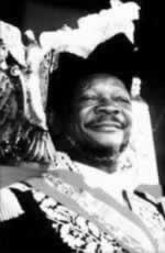 1980-12-24 The extravagance, inhumane stealing human flesh the Central African Emperor Bokassa was sentenced to death