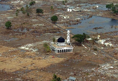 2004-12-26 Indian Ocean earthquake triggered the tsunami disaster in South Asia