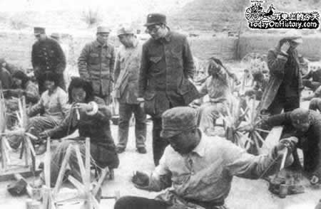 1942-12-30 Communist China to carry out large-scale production campaign in northern Shaanxi