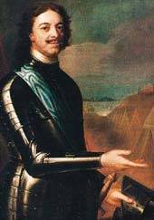 1725-2-8 Death of Russian Tsar Peter the Great (Peter I)