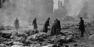 1945-2-13 Allied aircraft began bombing of Dresden