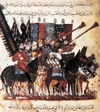 1258-2-10 Xu Liewu occupation of Baghdad, the capital of the Arab Empire toward the end of the Caliphate
