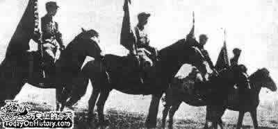 1936-2-3 Anti-Japanese Red Army vanguard army to cross the river Dongzheng