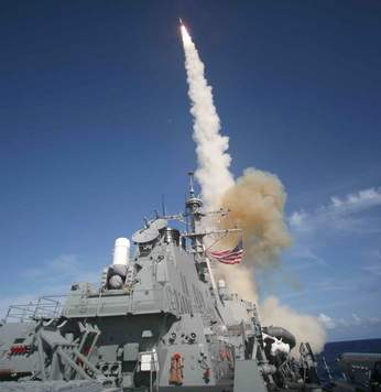 2008-2-21 U.S. forces launch missile successfully intercepted the runaway satellite
