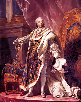 1710-2-15 King Louis XV of France was born