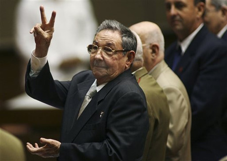 2008-2-24 Raul Castro was elected as Cuba's new supreme leader