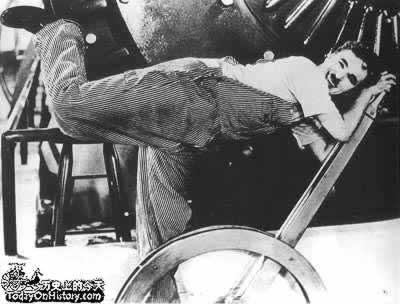 "1936-2-11 Chaplin's ""Modern Times"" was staged in London"