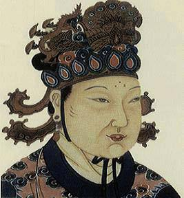 0624-2-17 Wu Zetian was born only female emperor in Chinese history