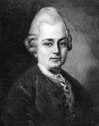 1781-2-15 The German playwright goth Holder Evry Lyme Lessing's death