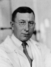 1941-2-21 Nobel Prize winners of the Canadian physician Frederick Banting's death