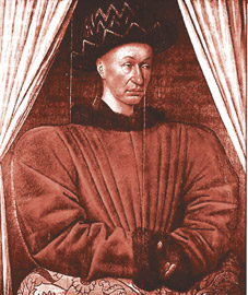 1403-2-22 French king Charles VII was born