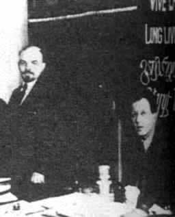 1919-3-4 Lenin composed the Third Communist International
