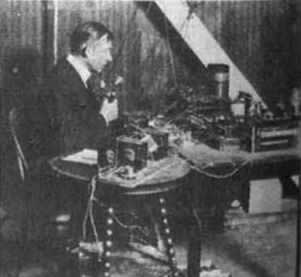 1924-3-7 Radio broadcast of 7000 miles