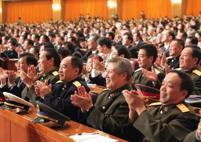 "By the Third Session of the Tenth National People's Congress ""anti-secession law"""