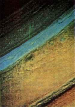 1979-3-7 Voyager 1 found Jupiter with the aura of the planet