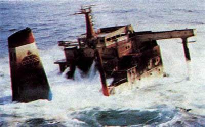 1978-3-19 U.S. tanker accident, more than 100,000 gallons of crude oil pollution in the French sea