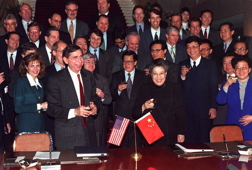 1995-3-11 China and the United States formally signed the agreement on intellectual property rights