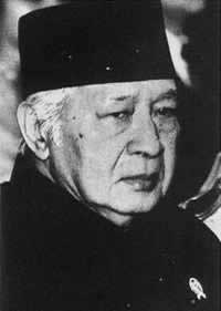 1998-3-10 Suharto was re-elected Indonesian President
