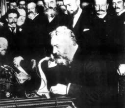 1876-3-10 Bell invented the telephone