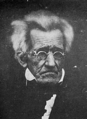 1767-3-15 Andrew Jackson, the seventh president of the United States was born