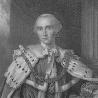 1792-3-10 The death of George III, the British Prime Minister John Stewart