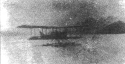 1910-3-28 Frenchman Fabre successful test flight of the first seaplane