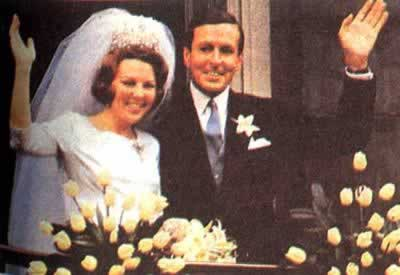 1966-3-10 The Dutch princess Shakespeare Terri Alex married with the former West German diplomats