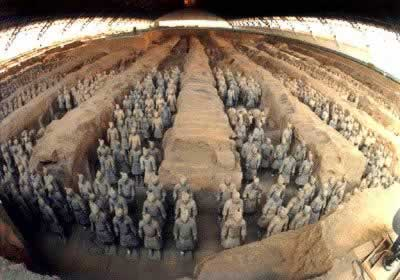 1974-3-11 Shaanxi the Lintong farmers found Terracotta Warriors
