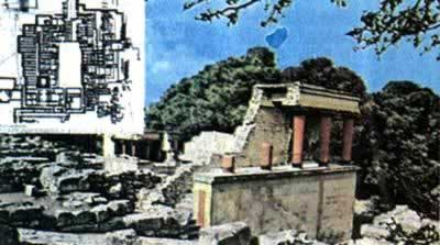 1900-3-19 Evans began to excavate the 16th century BC Knossos Palace