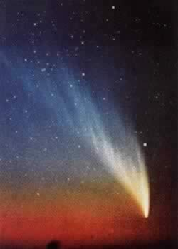 1976-3-21 Of this century, the most beautiful comet - Wister comet leave the Earth