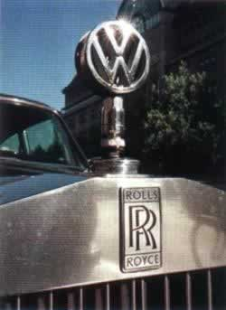 1998-3-30 Volkswagen and BMW compete for Rolls-Royce