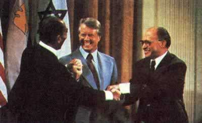 1979-3-31 Egypt and Israel signed the Camp David agreement