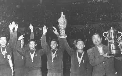 1961-4-4 World Table Tennis Championships held in China for the first time