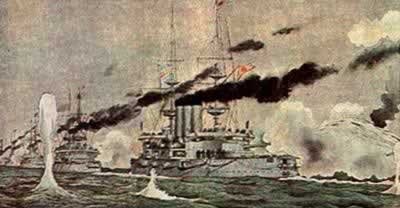 1904-4-13 Russian admiral in naval warfare was buried Health