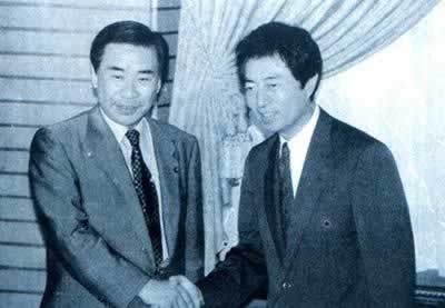 1994-4-8 Japanese Prime Minister Morihiro Hosokawa announced his resignation