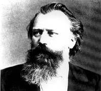 1897-4-3 The death of German composer Johannes Brahms