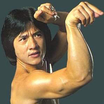 1954-4-7 Famous film star Jackie Chan was born in Hong Kong