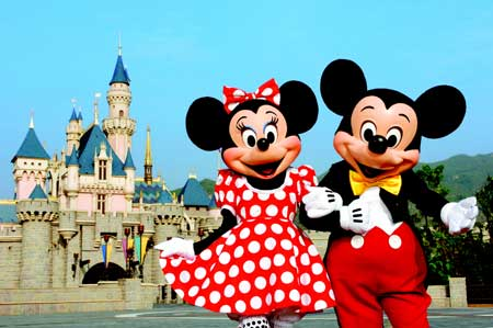 1992-4-12 The opening of Euro Disney theme park in France