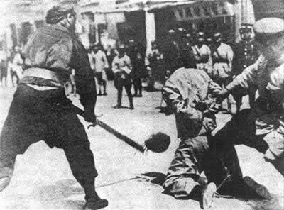 1927-4-12 Chiang Kai-shek launched the Shanghai April 12 coup