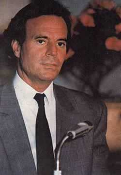 Julio Iglesias, one of the Three Tenors came to Beijing