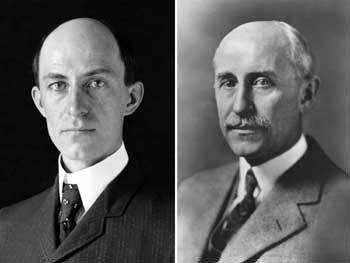 1867-4-16 American aircraft designer Wilbur Wright was born
