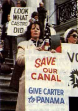 1978-4-18 The U.S. Senate approved the new Panama Canal treaties ""