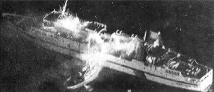 1990-4-7 Danish ferry caught fire and exploded
