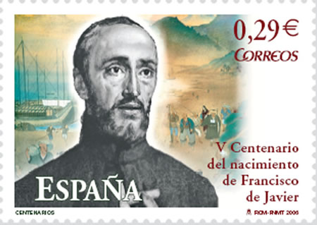 1506-4-7 Spanish missionaries, the founder of the Jesuit Francis Xavier was born