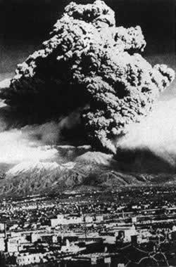 1906-4-7 Mount Vesuvius erupted