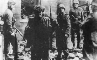 1943-4-19 The outbreak of the Warsaw Jewish anti-Nazi uprising