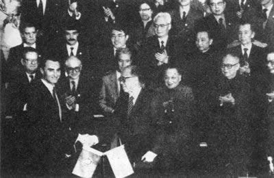 "1987-4-13 China and Portugal signed the ""Joint Declaration on the question of Macau"